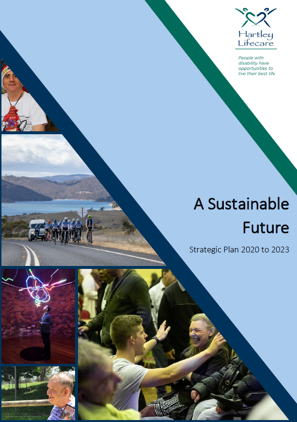A Sustainable Future - Hartley Lifecare Strategic Plan 2020-2023